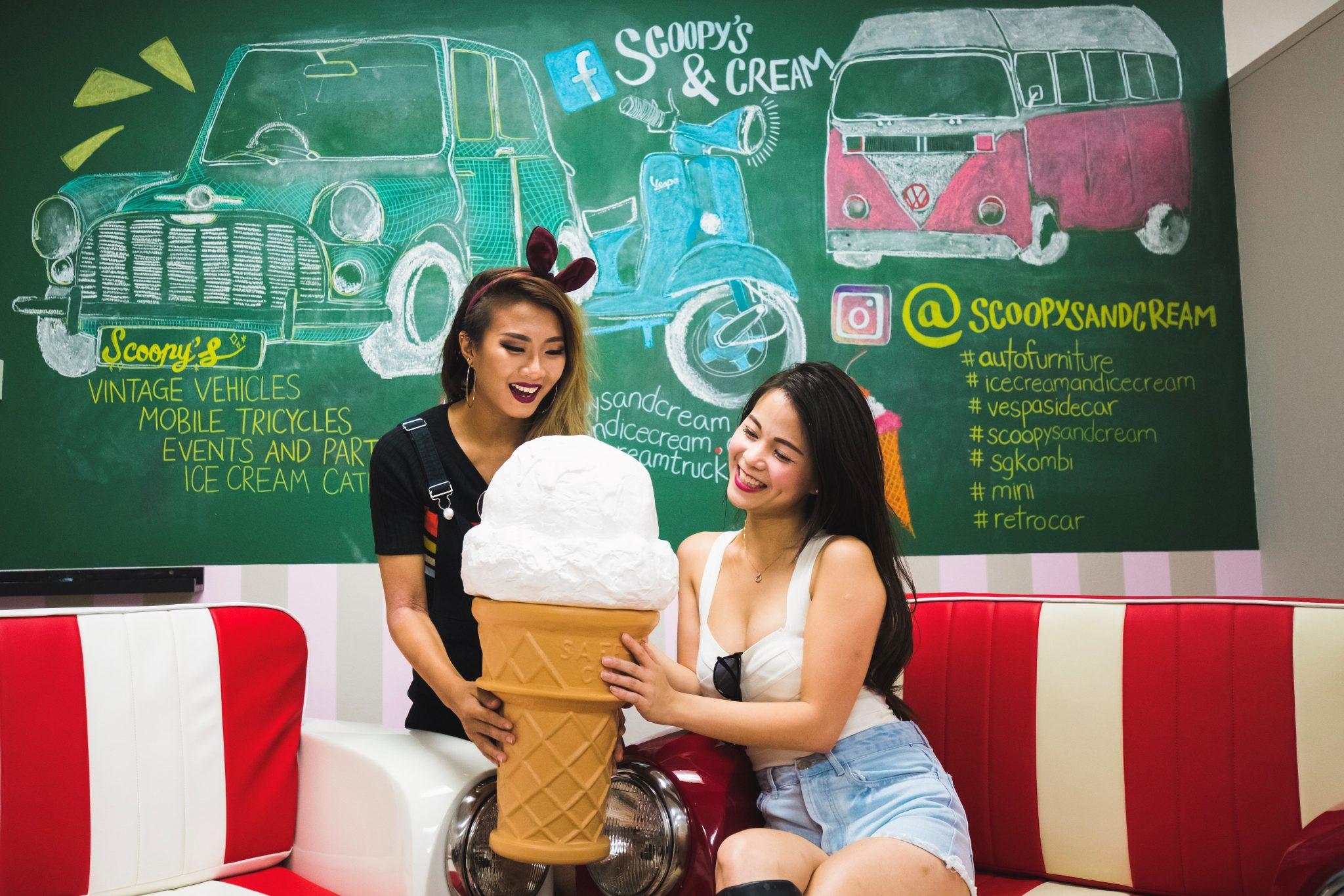 Ice cream workshop venue