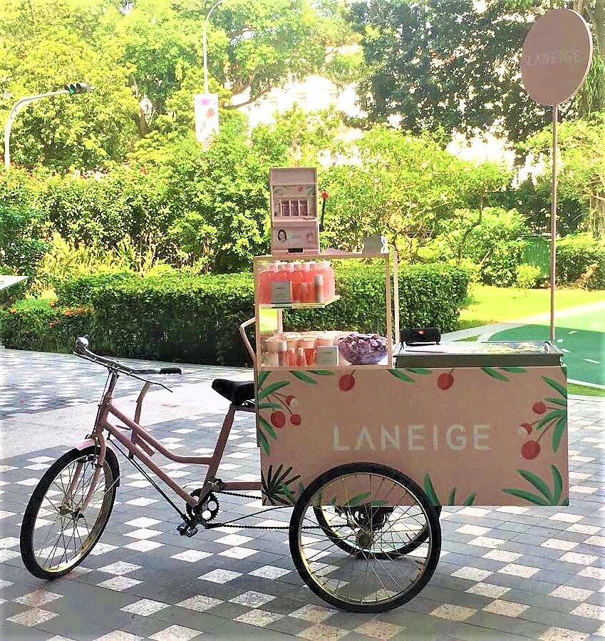 Popsicles - ice cream tricycle