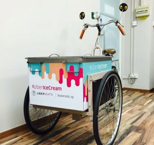 popsicle ice cream tricycle